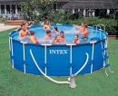 Piscina Intex Frame 457x122 cm. con accessori