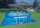 Piscina Ovale Easy Set cm 549x305x107 con accessori