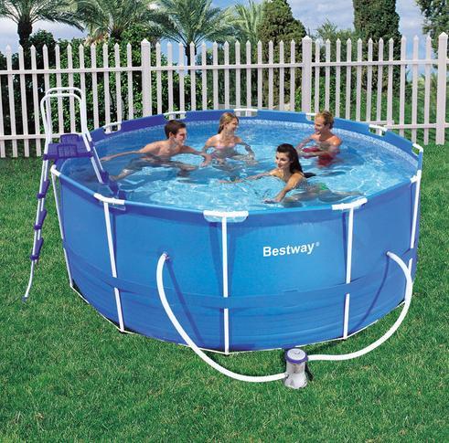 piscina bestway frame 366x122 cm con accessori