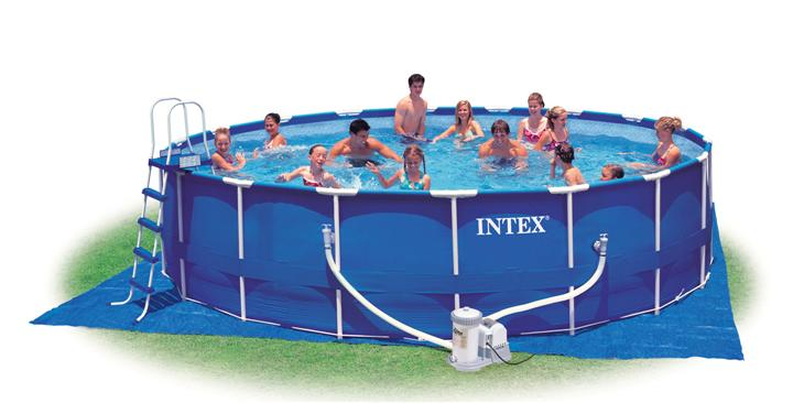 piscina intex frame 549x122 cm con accessori