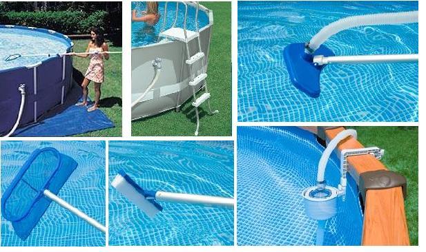 Intex piscine accessori confortevole soggiorno nella casa for Accessori piscine intex