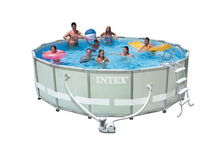 Piscina intex ultra frame 488x122 cm con pompa filtro e for Intex accessori